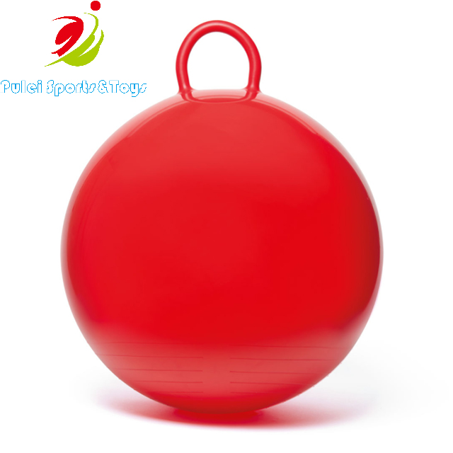Kids Children Outdoor Playground Play Toys Jumping Hopper Ball Balance Exercise Ball With Handle Space Hopper Ball Sports Activity From China Manufacturer Pulei Sports Goods Co Ltd